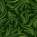 Free Seamless Green Floral Pattern With Leafs Royalty Free Stock Images - 18820729