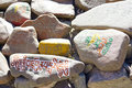Free Stones With Inscriptions Royalty Free Stock Image - 18940846
