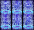 Free Zodiac Sign Set (01) Royalty Free Stock Images - 19108469