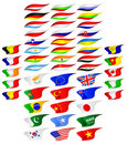 Free Flags Of The Different Countries. Stock Photo - 19214170