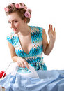 Free Ironing Woman Royalty Free Stock Photos - 1954168