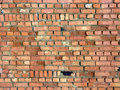 Free Aging Wall From Red Brick Stock Images - 1976904