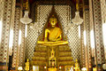 Free Golden Buddha  The Art Of Temple Stock Images - 19716194