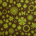 Free Floral Fabric Texture Stock Photography - 19753122
