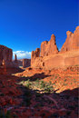 Free Park Avenue At Arches National Park Stock Photos - 19825303