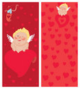 Free Cupid With A Letter, Invitation, Valentine`s Day Stock Photos - 19917253