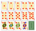 Free Playing Cards - Diamonds Royalty Free Stock Photography - 19951087