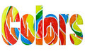 Free Colors Spelled Out Stock Photos - 20048043