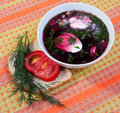 Free Cold Beetroot Soup Royalty Free Stock Images - 20136629