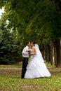 Free Happy Bride And Groom Royalty Free Stock Images - 20844019