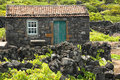Free Old Azores Home Built In Stone Stock Photo - 2091280