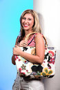 Free Blond With Bag 5 Stock Photos - 2094663
