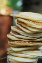 Free Pile Of Thick Pancakes Royalty Free Stock Image - 21292976