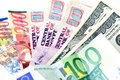 Free Several Countries Currencies (focus On Dollars) Stock Images - 21595734