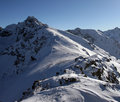Free Massif In Winter Stock Image - 2202601