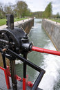 Free Canal Lock Gate Royalty Free Stock Image - 22301386