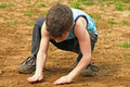 Free Boy Playing In The Dirt Stock Photo - 2248450