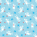 Free Angels Pattern Stock Image - 22528961
