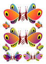 Free Multicolored Butterflies Stock Image - 2268471
