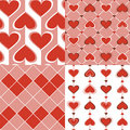 Free Seamless Valentine And Card Valentine Collection. Royalty Free Stock Photo - 22857255