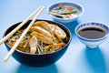 Free Chicken Chinese Meal Setup Royalty Free Stock Photos - 22957918
