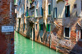 Free Italy. Venice. View On A Small Canal. Royalty Free Stock Photography - 23056547