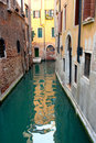Free Italy. Venice. View On A Small Canal. Stock Photography - 23056612