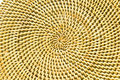 Free Circle Background From Rattan Fibers Stock Images - 23174034