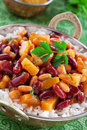 Free Beans And Pineapples Curry Stock Photo - 23181320