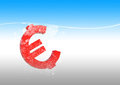 Free Euro In Water Royalty Free Stock Images - 23466019