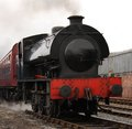 Free Steam Engine. Royalty Free Stock Photos - 25210128