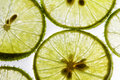 Free Lime Slices Floating In Soda Water Stock Image - 25298081