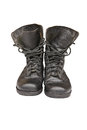 Free Old Leather Military Boots Stock Photo - 25371190