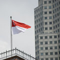 Free Flag Of Singapore Royalty Free Stock Photography - 25554517