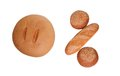 Free 0 Percents, Is Laid Out From Bakery Products Royalty Free Stock Photography - 25589107