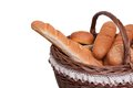 Free Arrangement Of Bread In Basket Royalty Free Stock Photography - 25589157
