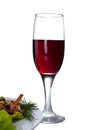 Free Red Wine Wineglass Stock Images - 25589274