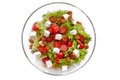 Free Ceasar Salad With Rusks Royalty Free Stock Image - 25744576