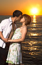 Free Couple In Love On The Lake Stock Photos - 25750603