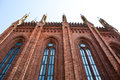 Free The Wall Of The Church Of Red Brick Royalty Free Stock Photography - 25791987