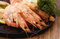 Free Shrimps Cooked In Shell Royalty Free Stock Photos - 2627038