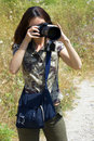Free The Girl The Photographer Stock Photo - 2651650