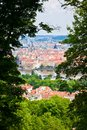 Free Through Trees On A Petrin Hill Royalty Free Stock Photo - 26592265
