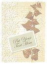 Free Romantic Card With Ivy Stock Photos - 26751843