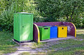 Free Garbage Cans Royalty Free Stock Photos - 27232628