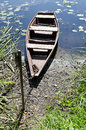 Free Old Lonely Wooden Boat Royalty Free Stock Photos - 27232828