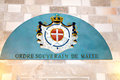 Free Coat Of Arms Of The Order Of Malta Stock Photography - 27478742