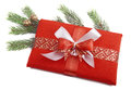 Free Christmas Present In Red Stock Image - 27538851