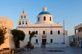 Free Church Of The Island Of Santorini Stock Images - 27729124