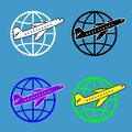 Free Air Travel Around The World Royalty Free Stock Photo - 27892355